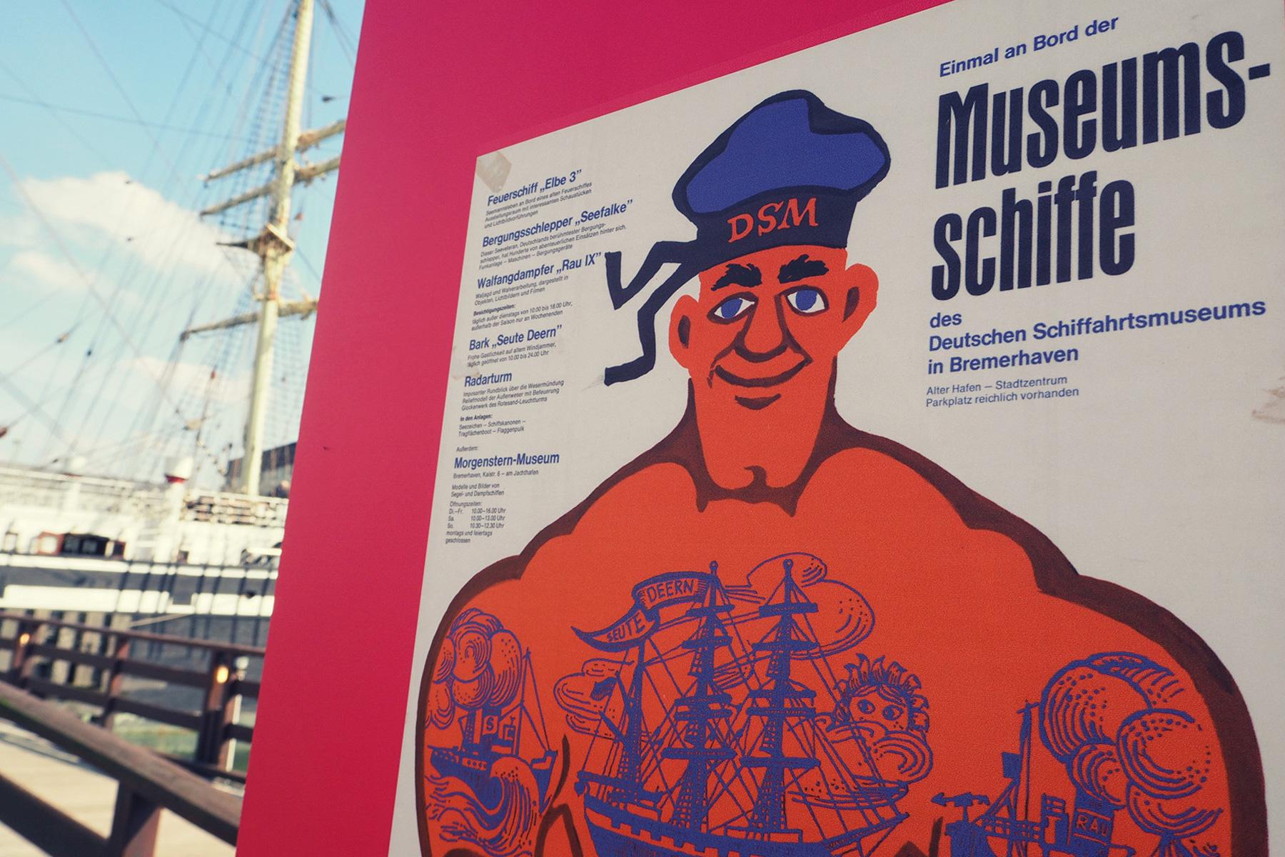 Im Schiffahrtsmuseum Bremerhaven