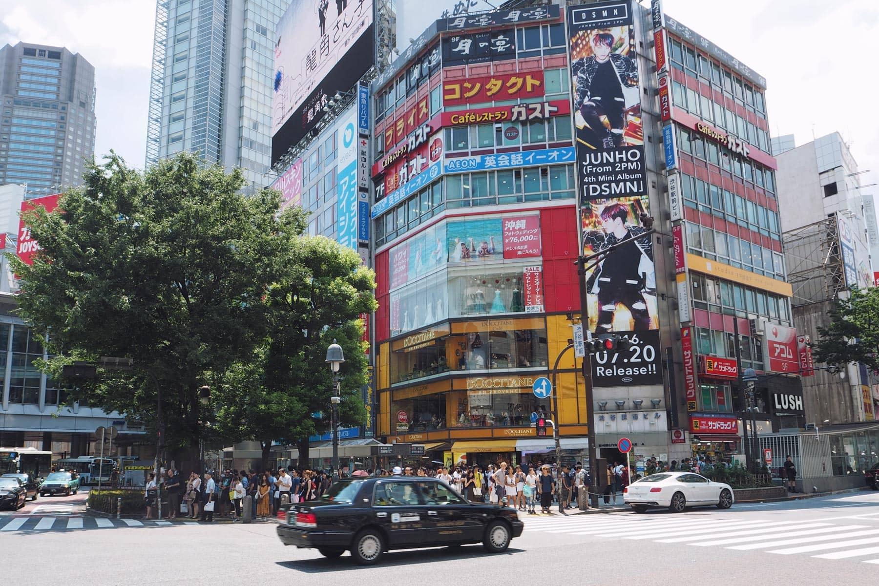 Tokio mit Kindern