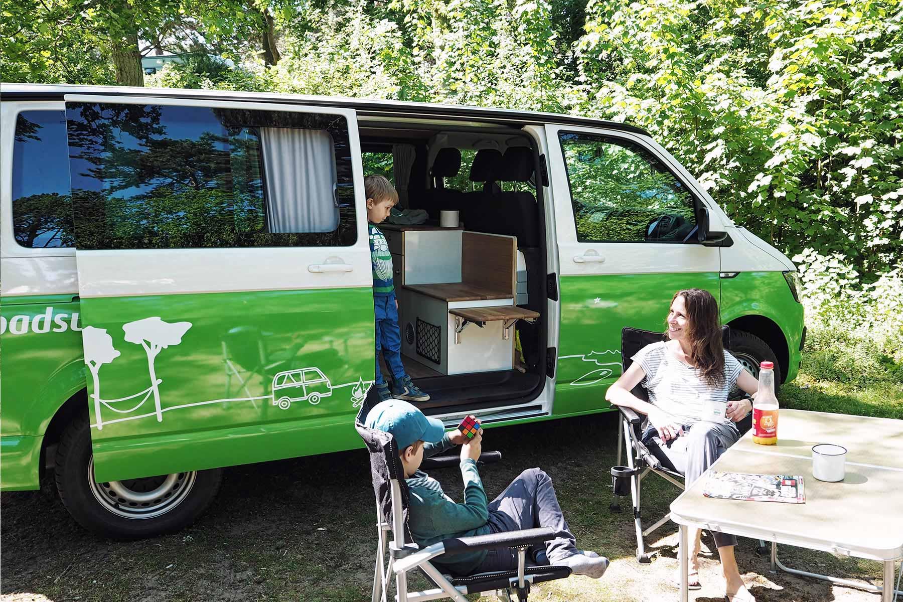 Mit dem Campervan nach Holland