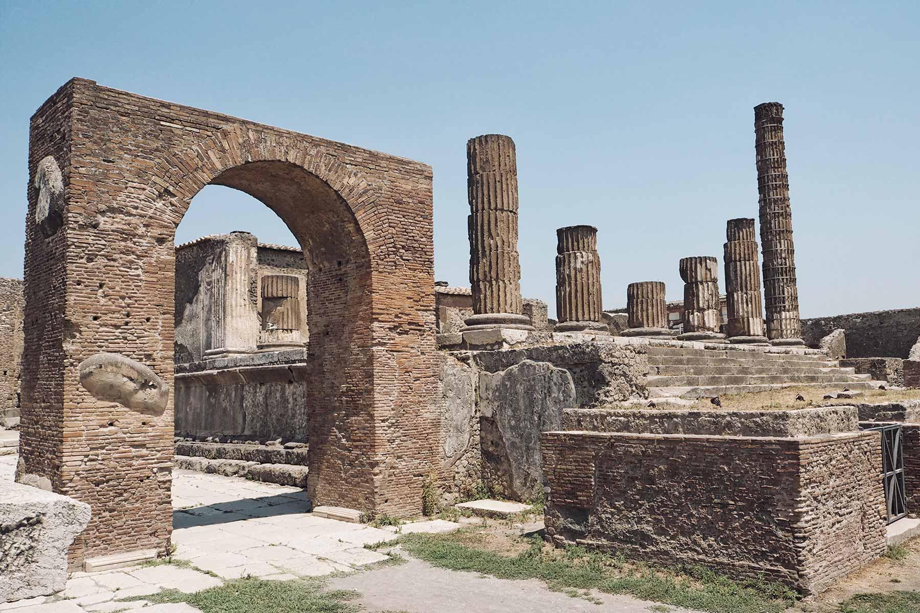 Die römische Stadt Pompeji