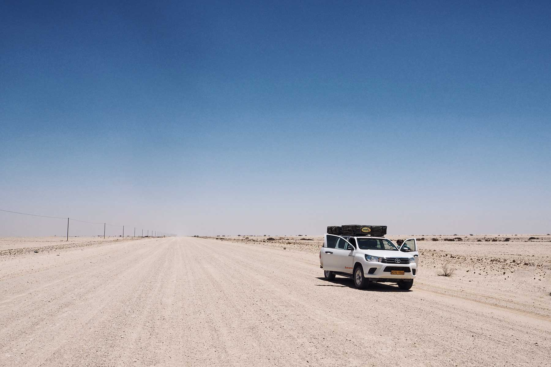 Roadtrip durch Namibia: Unsere Route