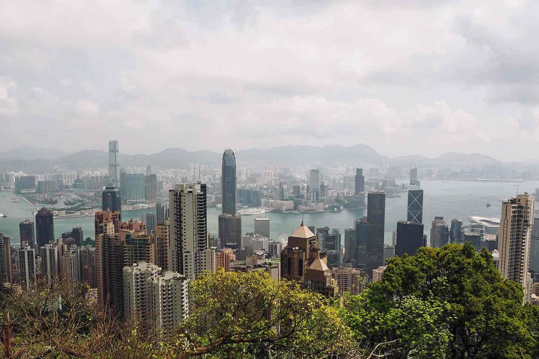 Mitten in Hongkong mit Kindern